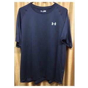 Under Armour Heat Gear Loose Fit Black Shirt